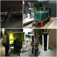 Stockholm had interesting design displays from Mobile acoustic cabins to charging lights. #SFF2017