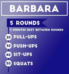 Workout 1: Barbara