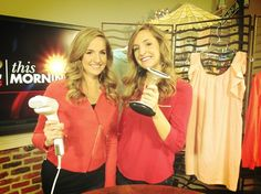 Do clothing steamers actually work? We put them to the test! #TwinTested #KUTV http://twinsontwo.blogspot.com/2013/03/twin-tested-does-it-work.html