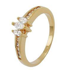 Dreambase Ring, Zirkonia, vergoldet 3 Micron Dreambase https://www.amazon.de/dp/B00H2ICCOU/?m=A37R2BYHN7XPNV