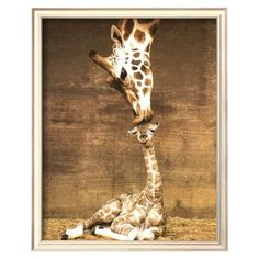 When I have a baby, the nursery will be safari themed and this will be on the wall. This is adorable :)