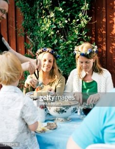 View Stock Photo of Midsummer Celebrations At A Table. Find premium, high-resolution photos at Getty Images.