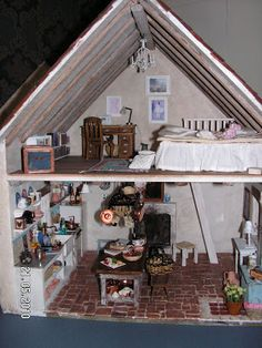 Mini daydreams: Old project- Country French Cottage - Upstairs