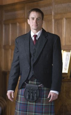 Tweed Crail Jacket by Scotweb Tartan Mill