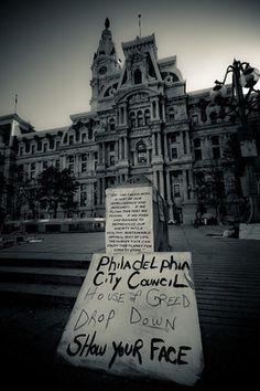 Occupy Wall Street  Philadelphia  Photo by Dean Hawkey