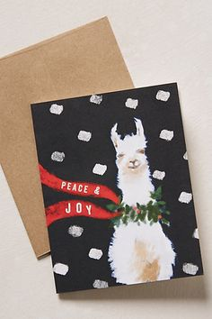 merry llama card #anthrofave http://rstyle.me/n/tbxn2pdpe