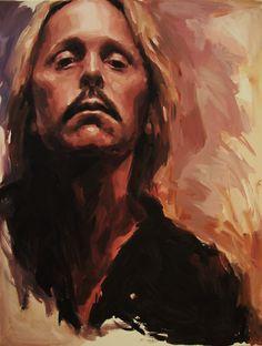 Christopher Pew (alla prima painting) - self portrait