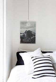 Three simple graphic bedrooms - decordots