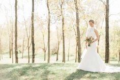 Magical wedding featuring country chic details and a red pickup truck