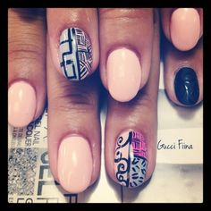 tribal and matted - Nail Art Gallery by NAILS Magazine