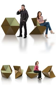 HEXA PROJECT.  The hexagonal geometric application develops this object in a context where the challenge is proportioned to the most accurate looking.    The strength is explored with considerable measures with the same dynamic as a normal chair.    The hexagon and all geometric mysticism was the concept used for development of this almost illusive design object.