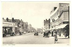HIGH STREET, ELTHAM. S E LONDON / KENT.HINDS, CO-OP, CINEMA