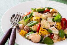 Smoky Corn and Avocado Potato Salad - Nadia Lim