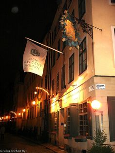A Stockholm restaurant opened in1722. Den Gyldene Freden by Michael Rys, via Flickr