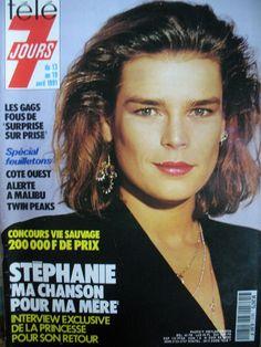 TELE 7 JOURS N° 1611 - Avril 1991 - STEPHANIE DE MONACO