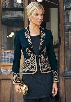 Karako the  #karako 60 Fashion, Hijab Fashion, Fashion Dresses, Womens Fashion, Fashion Design, Military Inspired Fashion, Hijab Evening Dress, Mode Abaya, Luxury Lifestyle Fashion