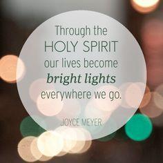 Be a bright light everywhere you go.