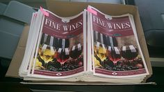 Brochures I made for Harlech's new Fine Wine range. 700+ printed copies which will be all over North & Mid Wales, Chester, Wirral & Liverpool soon.