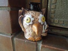 Sova 3d - keramika Co kus, to originál.
