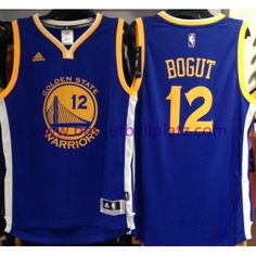Golden State Warriors Trikot Herren 15-16 Andrew Bogut 12# Road Basketball Trikot Swingman