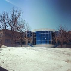 A little snowy and sunny at Dempster this afternoon #winter #bluesky #SEMO