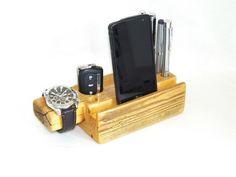 Organizer na biurko, stojak na telefon - nr OL1 - LOFTSTAR - Akcesoria do telefonów