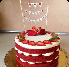 Red Velvet Cake is a conventional red-colored or dark red-brown moist red velvet cake with white cream cheese icing or ermine frosting. Southern Red Velvet Cake, Best Red Velvet Cake, Bolo Red Velvet, Red Velvet Birthday Cake, Red Cake, Just Cakes, Cakes And More, Red Velvet Cake Decoration, Cake Recipes
