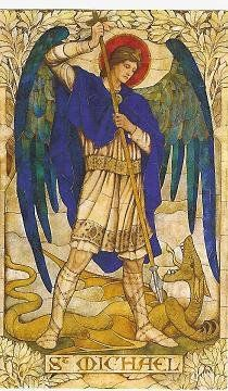 St. Michael the Archangel, defend us in battle, be our protection against the malice and snares of the devil. #iwannabeasaint
