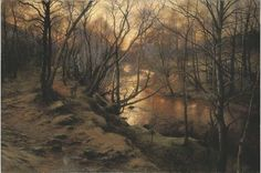 Joseph Farquharson - Evening's Last and Sweetest Hour.