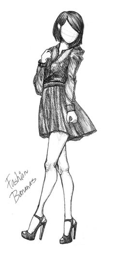 Fashion sketches dresses art inspiration 48 Ideas for 2019 Fashion Illustration Sketches, Illustration Mode, Fashion Sketches, Drawing Sketches, Cool Drawings, Fashion Drawings, Sketching, Drawing Style, Fashion Sketchbook