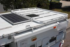 Aluminess Roof rack for a Four Wheel Camper