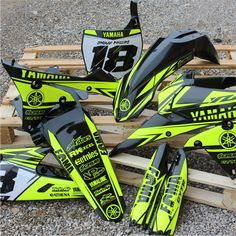 Do you need plastics? Check our website. Everything in stock, ready to go! Fast turnaround. Tested by the best riders in the world. #yamaha #motocross #