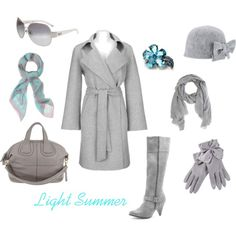 Light Summer cold weather style by enlightenedshopper on Polyvore featuring Fenn Wright Manson, Dorothy Perkins, Givenchy, Avalaya, F, Faliero Sarti, Helene Berman and D&G