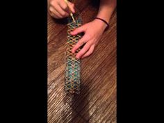 Rainbow Loom- Cobra stitch bracelet