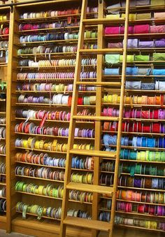 For real?  This is a serious ribbon wall!