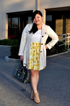 Curvy Girl Chic - Plus Size Fashion and Style Blog: like spring
