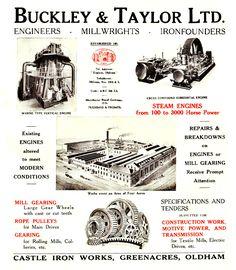 1928. Castle Iron Works Oldham