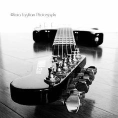5x5 Electric Guitar,  Fine Art Photography by PocketFullofPixels, $15.00 #guitar #photography