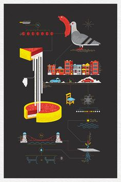 AIGA Chicago: This is Chicago poster on Behance