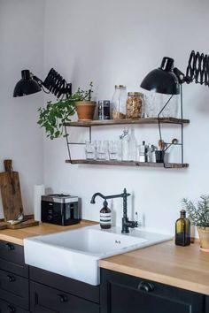 3 Amazing Cool Tips: Vintage Minimalist Decor Sinks minimalist home decoration interiors.Extreme Minimalist Home Simple warm minimalist interior loft.Minimalist Decor With Color Modern. Kitchen Furniture, Kitchen Interior, Kitchen Decor, Kitchen Design, Kitchen Ideas, Ikea Interior, Ikea Furniture, Kitchen Styling, Interior Ideas