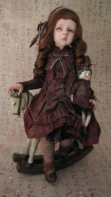 """"""" AMANDA """", piéce unique par Julien Martinez. Doll OOAK, 50cm/20""""."""