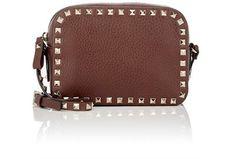 VALENTINO Rockstud Crossbody. #valentino #bags #shoulder bags #crossbody #suede #