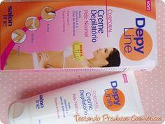 Depilação - Creme depilatório (Produto) - Depy Line