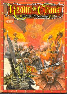 Realm of Chaos: Slaves to Darkness - one of the gems in my collection.
