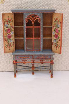 Aparadores y estantería I Cabinets 1 - lola del villar miniaturas