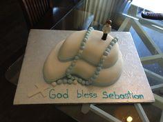 1st communion cake Communion Cakes, Desserts, Food, Meal, Deserts, Essen, Hoods, Dessert, Postres