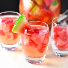 Watermelon Sangria | Just Putzing Around the Kitchen