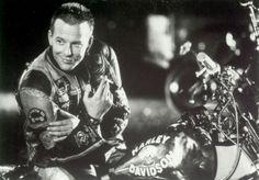 Mickey Rourke - Harley Davidson and the Marlboro Man.