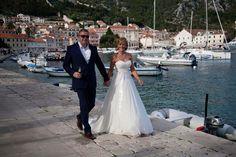 Suzanne in 'Lupin' | Wedding dress | Wedding abroad | Newly weds | Beautiful setting | Amanda Wyatt