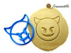 Purple Devil Emoji Cookie Cutter/ Multi-Size by Francesca4me on Etsy